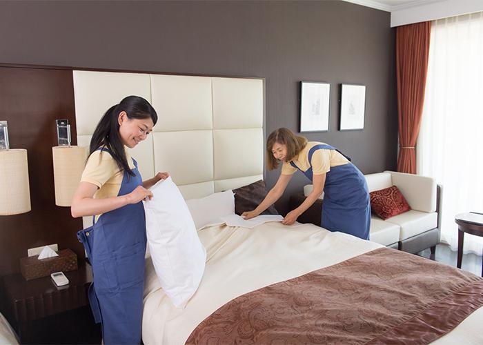 客室清掃員の仕事内容はどんなもの? ホテル清掃で得られるメリット